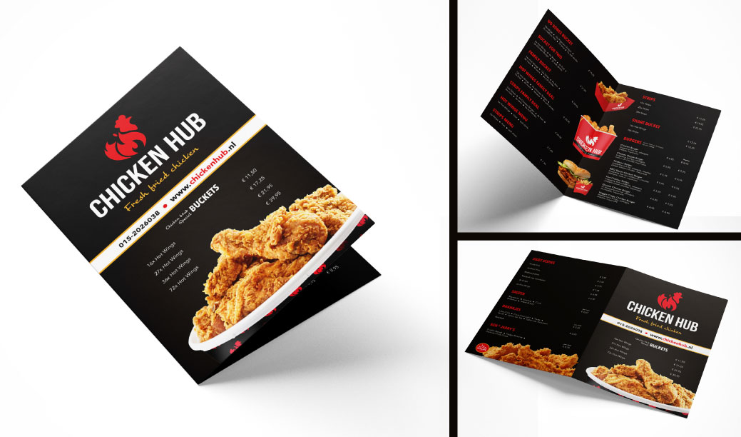 project-13-menukaart-folder-ontwerp-chicken-hub